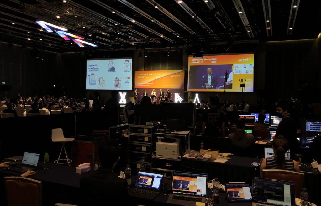 A hybrid event held by GlobalExpo-Net in Hong Kong